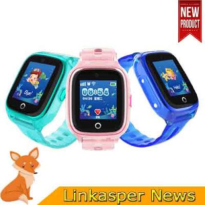 Đồng hồ định vị trẻ em chống nước Wonlex KT01