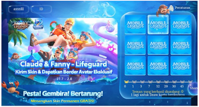 bit.ly/mlbbcarnival || mobile legend carnival Dapat Skin Gratis di Event Summer Carnival Mobile Legends