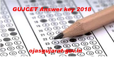 GUJCET Answer key 2018 | All Paper Set Solution Available here www.gseb.org
