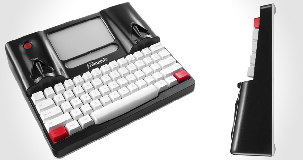 Distraction Free Smart Typewriter