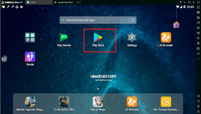 Pilih Google Play Store Memu Play Emulator Android PC Laptop