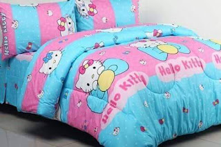 Sprei Kitty Lovely