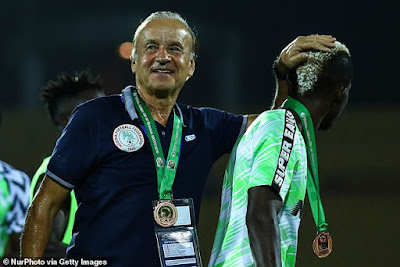 Gernot Rohr nigeria super eagles contract