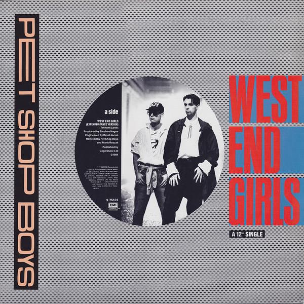 Sucessos De Sempre Pet Shop Boys West End Girls