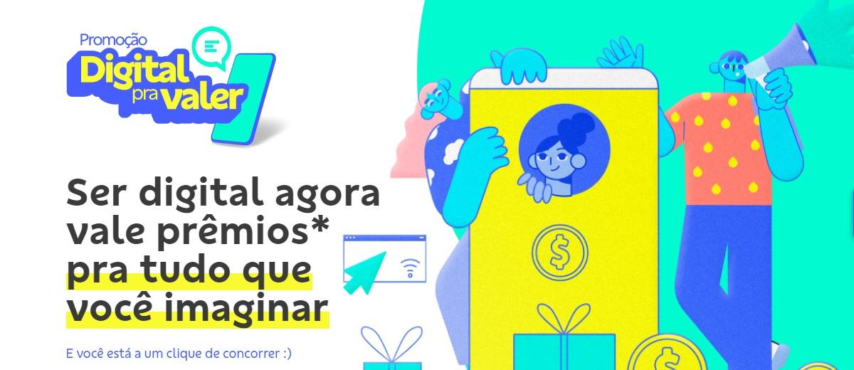 Promoção BB 2021 Digital Pra Valer Banco do Brasil Cadastrar - Prêmios Todo Dia