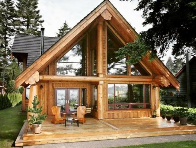 design pondok kayu