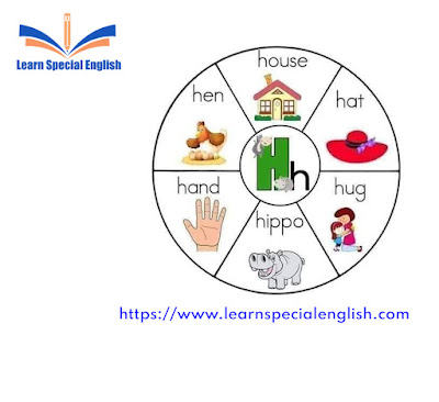 6 common English words that start with the letter H for kids