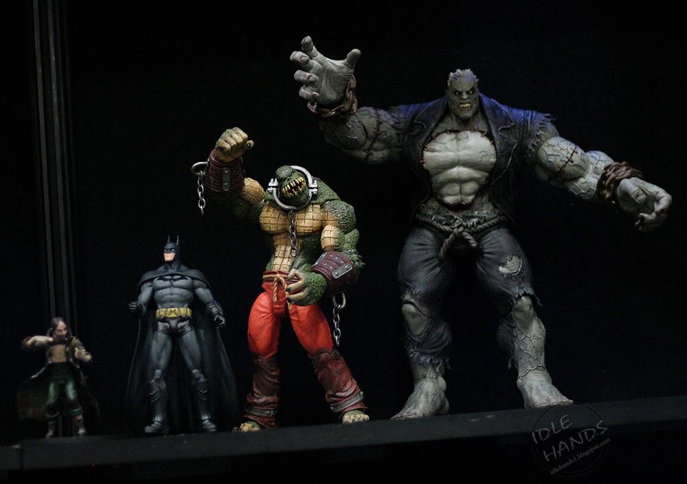 Toy Fair 2014: DC Collectibles' Clayface Action Figure ...  |Clayface Action Figure