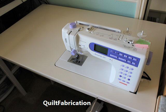DIY Ikea sewing machine table