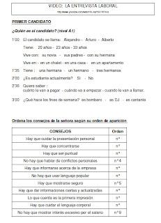 Entretien D Embauche En Espagnol : entretien, embauche, espagnol, Quichotteries, Delphine:, Entrevista, Laboral