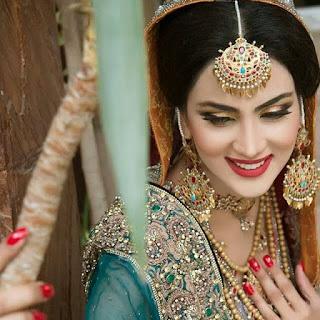 Fiza Ali Bridal Makeup Pics