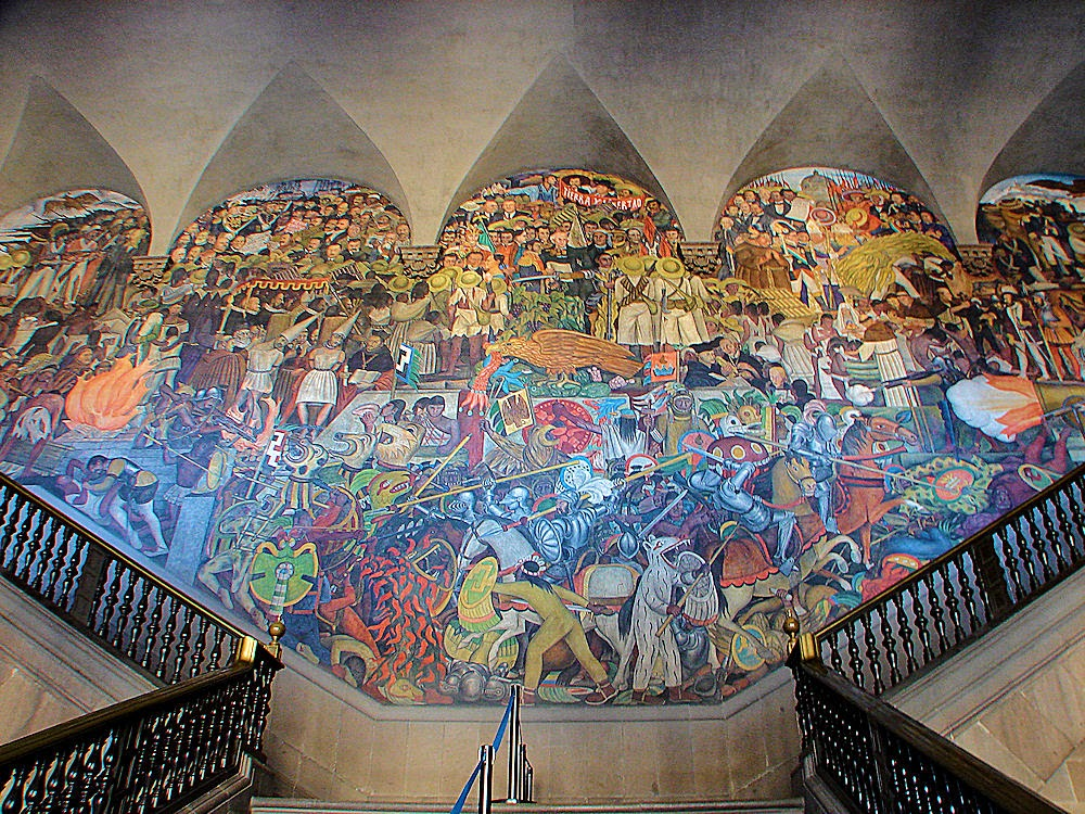 Jose antonio bru blog el muralista diego rivera la for Diego rivera mural 1929