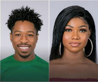Former Bbnaija pepper dem housemates was all friendly in a new live Instagram video made by Ike which saw Tacha joined and immediately the views doubled.