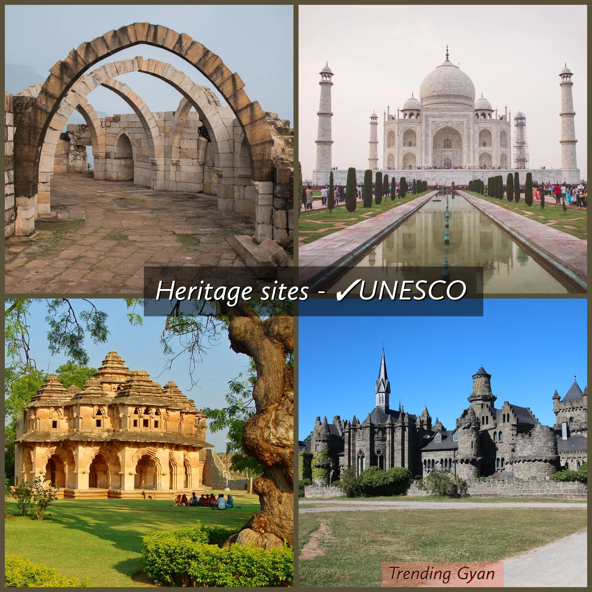 7+ Criteria for selecting world heritage sites