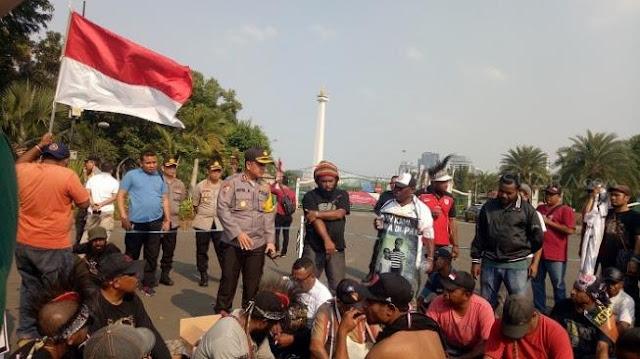 HNW Sedih Eks Buruh Freeport Malah Ditangkap Saat Demo di Istana