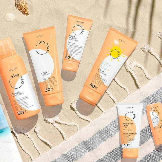 Review Produk Oriflame SPF Body dan Face Cream