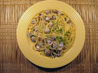 Spaghetti with Telline Clams