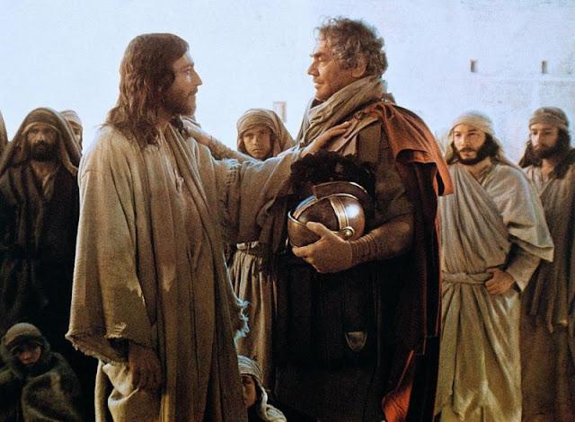 Resultado de imagem para jesus e o centurião