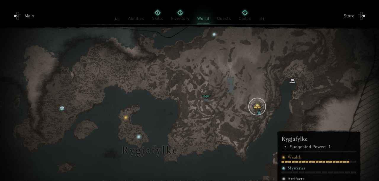 Ingot 14 Map