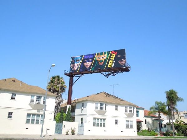 Kick Ass 2 movie billboard
