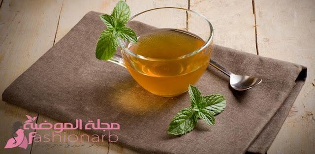 أضرار شرب الشاى الأخضر على معدة فارغة