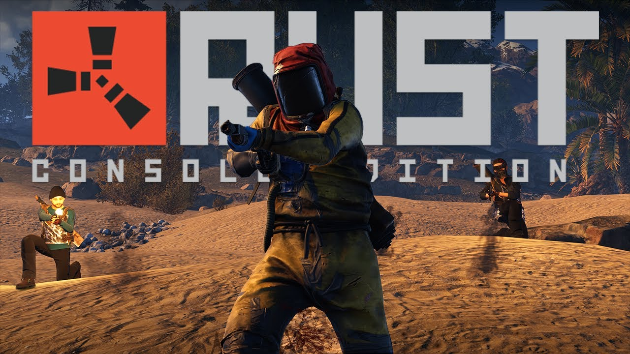 Rust Console Edition Launching May 21 on Xbox One and PlayStation 4, Preorders & Bonuses for Physical and Digital Editions Available Now