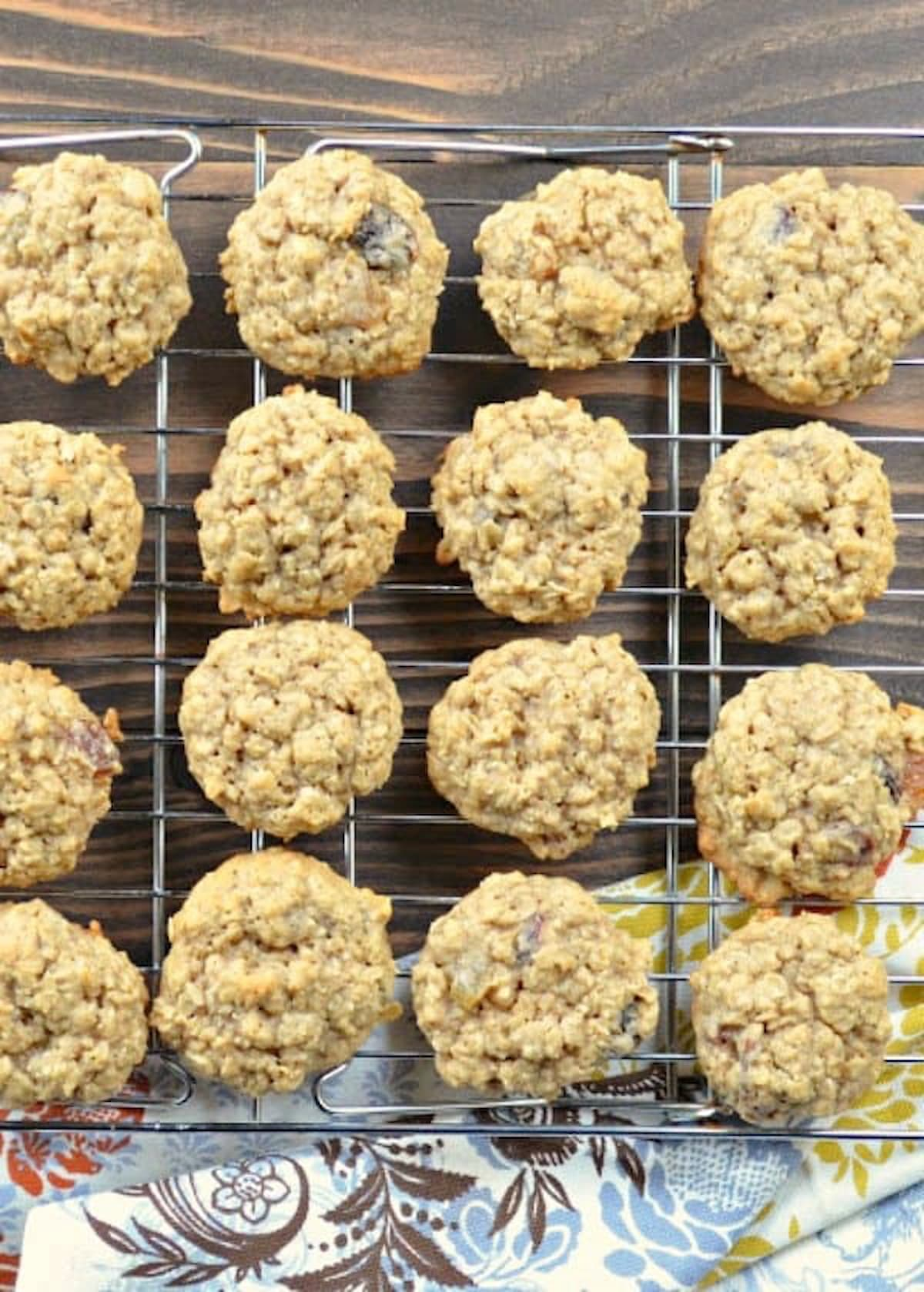 Chewy Soft Oatmeal Raisin Cookies are a family favorite recipe from Serena Bakes Simply from Scratch.