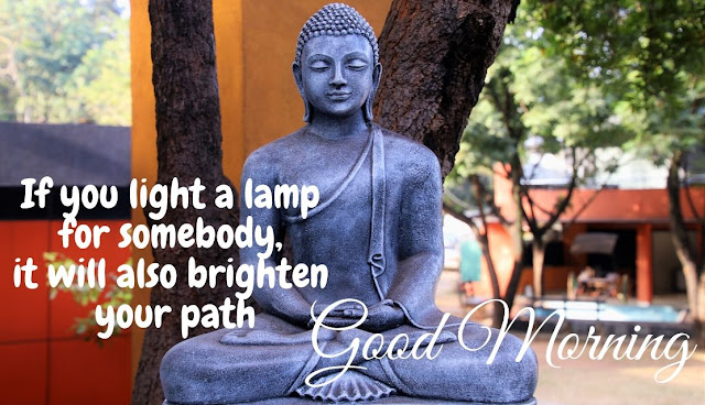 good morning gautam buddha quote in english