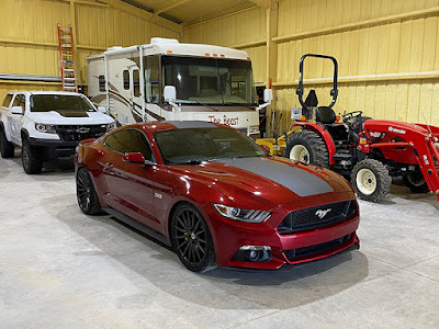 2016 Ford Mustang 2 Door Fastback GT customized by Tommy Pike Customs #GarageMoments