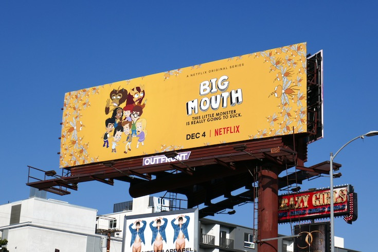 Big Mouth season 4 billboard