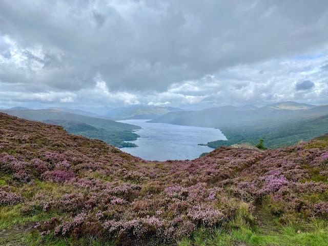 Loch Katrine seen from Ben A'an, Trossachs National Park, Scotland