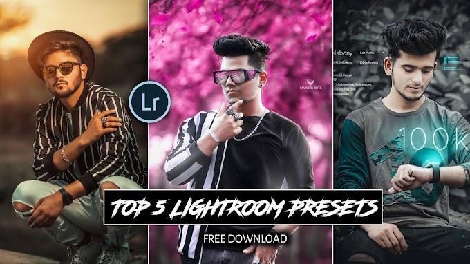 Top 5 Best Lightroom Mobile Presets Free Download 2021
