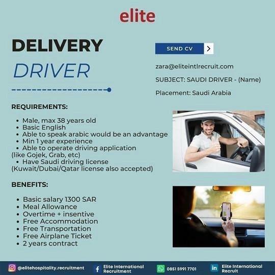 Delivery Driver Karawang