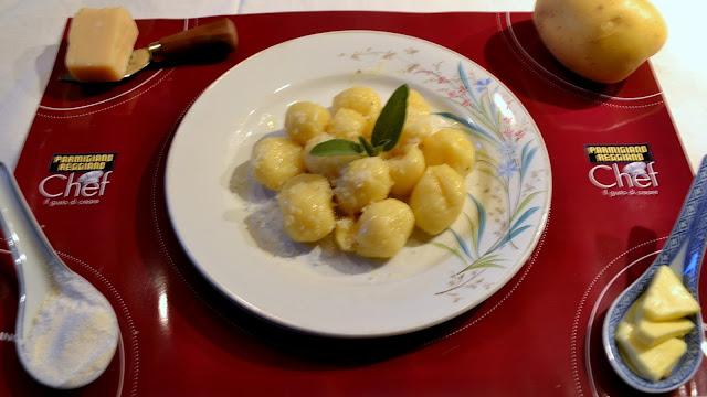ricetta gnocchi cuore di parmigiano