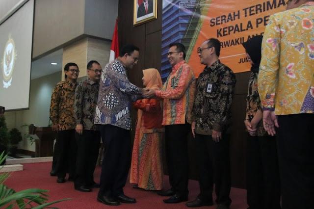 Pemut Aryo Wibowo Dilantik Sebagai Kepala Perwakilan BPK Jakarta, Ini Harapan Anies
