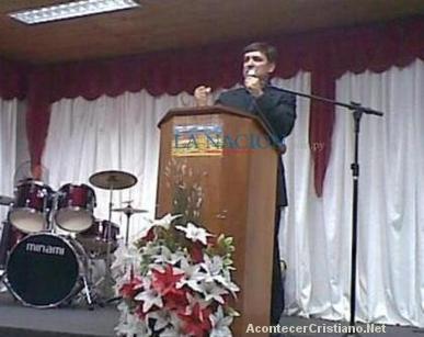 Pastor Osvaldo Esteban García Giménez