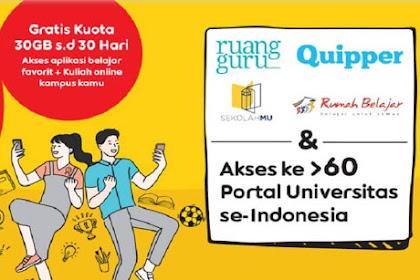 Dapatkan Gratis Kuota 30GB Dari Indosat IM3 Ooredoo