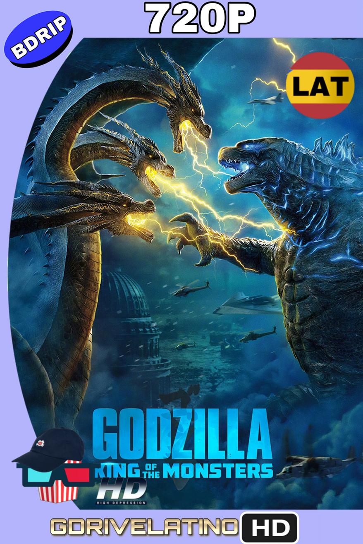 Godzilla II: el rey de los monstruos (2019) BDRip 720p (Latino-Inglés) MKV