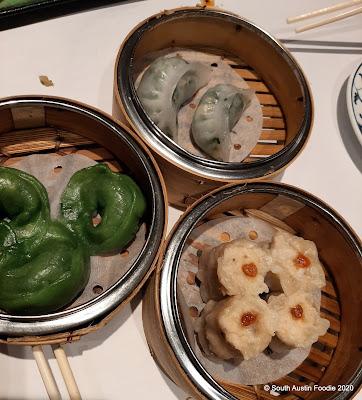 Yank Sing dim sum dumplings