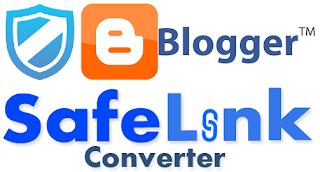 Modèle de blogueur réactif Blogger Safelink theme