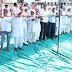 महरिया के जनसंपर्क में उमड़ी भीड़, 51  मीटर का साफा बांधा