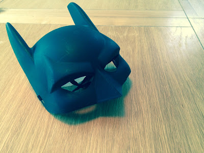 Batman mask from ADHD child