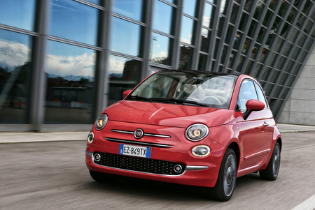 cabrio news facelift fiat 500 cabrio seit beim. Black Bedroom Furniture Sets. Home Design Ideas