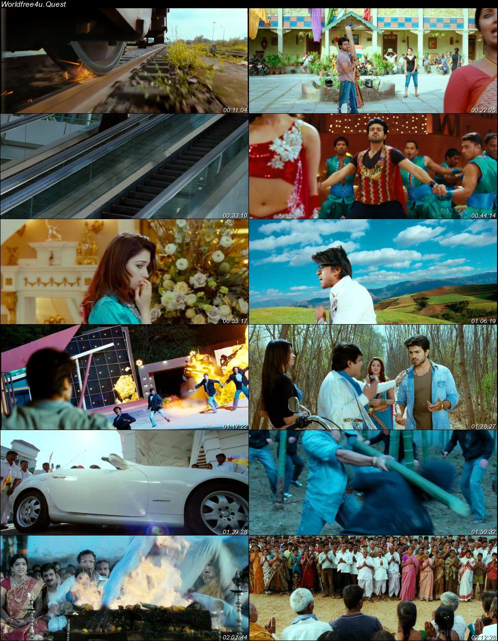 Racha 2012 Hindi Dubbed Movie Download    HDRip 720p