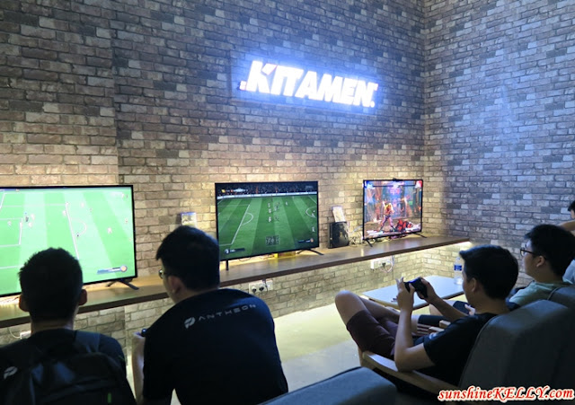 PS4 zone, The PANTHEON Malaysia, first eSports Arena in Malaysia, Platinum NVIDIA GeForce GTX iCafe Certification