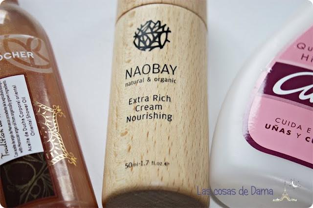 Productos terminados naobay Yves Rocher Cutex