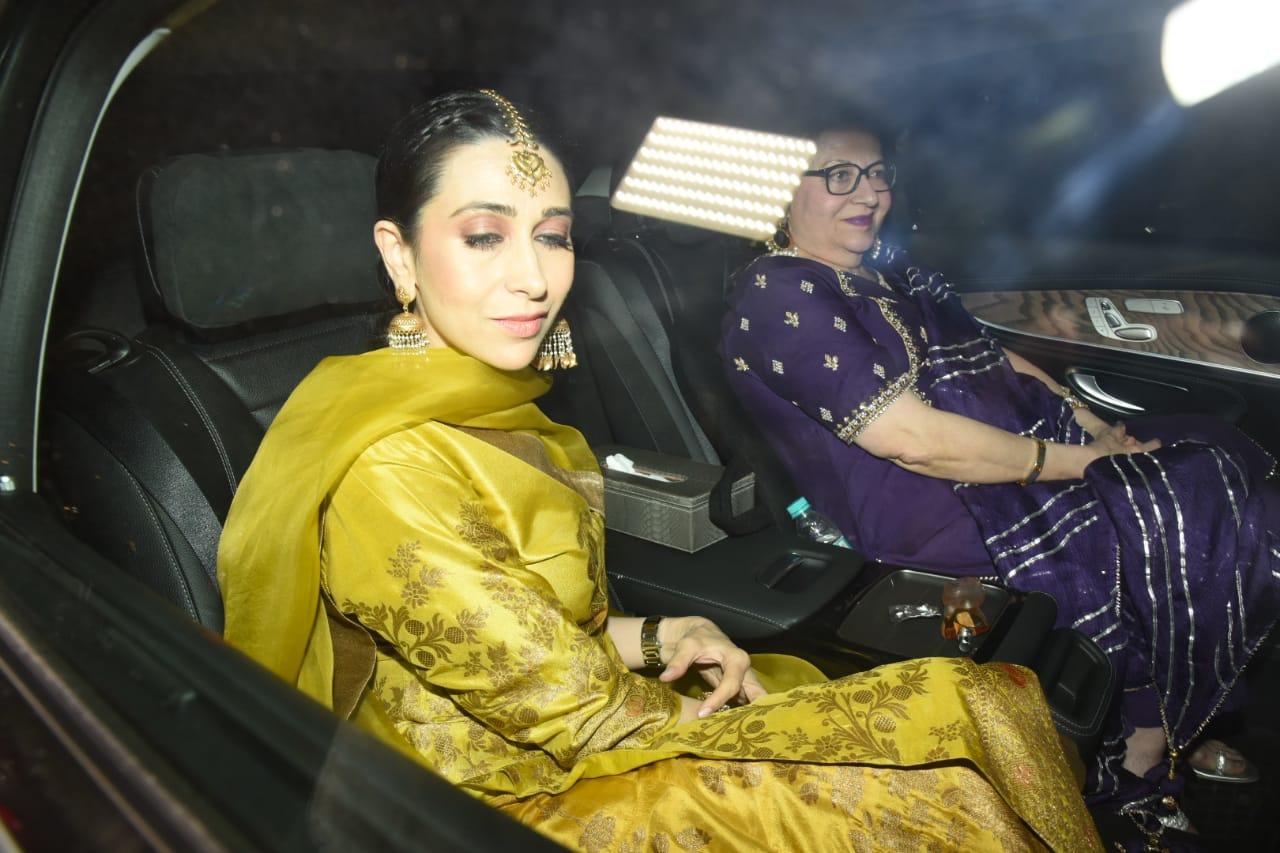 bollywood-karishma-kapoor-tara-sutaria-rishi-kapoor-at-armaan-jain-pre-wedding-rituals