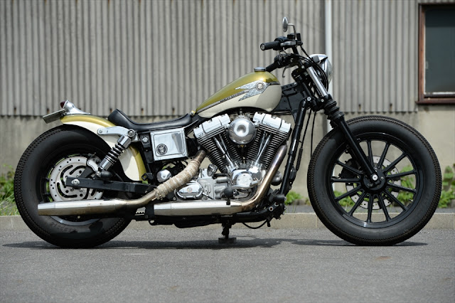 Harley Davidson FXDL 2005 By The Oldspeed Factory Hell Kustom