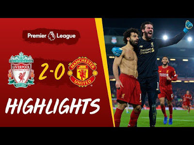 Liverpool vs Man Utd 2-0 All Goals And Match Highlights [MP4 & HD VIDEO]
