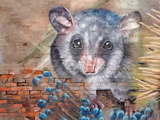 Corowa Street Art   Mural by Kade Sarte